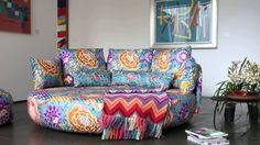 Missoni, Sofa, Couch, Beautiful Places, Case, Hotels, Furniture, Youtube, Home Decor