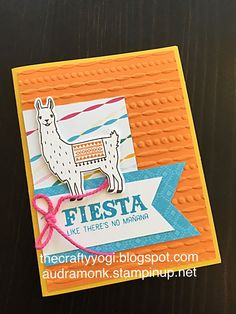 the crafty yogi: Somethings New from SU, Remarkable Blog Hop, birthday fiesta, Stampin' Up.