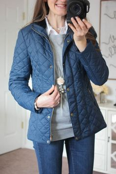 WANT: Coffeeshop Sarah Quilted Coat - I LOVE quilted coats! This one's great because it has a zipper and snaps. My FAVORITE color!