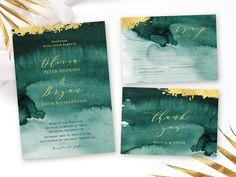 Green Wedding Invitations, Wedding Invitation Suite, Wedding Stationery, Wedding Suite, Dream Wedding, Invites, Bridal Suite, Perfect Wedding, Beautiful Calligraphy