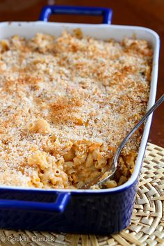 Made this tonight  and it was delcious! Light Sweet Potato Mac 'n Cheese Recipe | cookincanuck.com #recipe #vegetarian