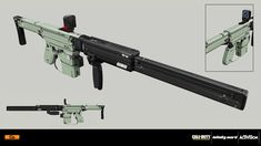 ArtStation - Call of Duty: Infinite Warfare - VR weapons, Nenad Gojkovic