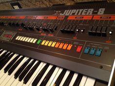 MATRIXSYNTH: Roland Jupiter 8 Vintage Analog Synthesizer w/Mods...