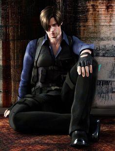 Leon S Kennedy fan art. Resident Evil 6
