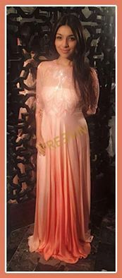 The gorgeous Festive Bling!  We're excited to share our new festive collection - here's the tone on tone peach ombre Dress that's ideal for the festive parties. Creative Director Priyanka Batra looks stunning in this new outfit by Preevin!  So, get Festive ready with Preevin. Place your orders on 9811707878. #Preevin #Fashion #FashionDesigner #FestiveCollection #Delhi #FashionLabel #ShahpurJat #StyleDiaries #PriyankaBatra #Fashionista