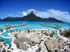 Bora Bora! Going there on my honeymoon someday <3