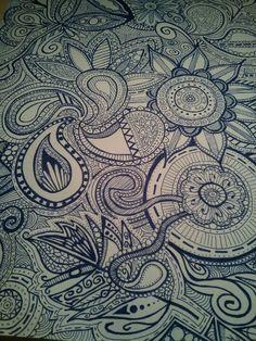 #doodling #drawing #paisley #artsy