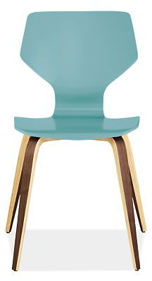 Pike Chair with Wood Base in Colors - Chairs - Dining - Room & Board