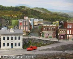 Roads for your Model Railroad Layout or Diorama