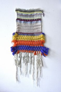 Beautiful wall hanging, as seen on: http://shinysquirrel.typepad.com/
