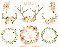 free rustic wedding clipart - Google Search