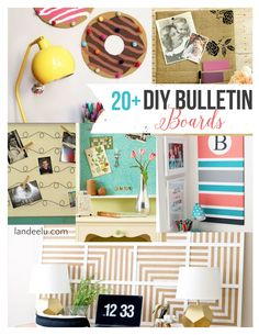 29 New Ideas Diy Organisation für Teenager Mädchen Schlafzimmer Cork Boards Diy Organizer, Diy Organization, Organizing, Diy Crafts For Teen Girls, Diy Projects For Teens, Craft Projects, Craft Tutorials, Homemade Bulletin Boards, Diy Cork Board