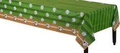 MLB Baseball Disposable Plastic Table Cover