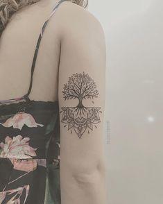 New Pine Tree Tattoo With Roots Beautiful 68 Ideas Bild Tattoos, Cute Tattoos, Beautiful Tattoos, Body Art Tattoos, New Tattoos, Small Tattoos, Tattoos For Guys, Tattoos For Women, Tattoo Week