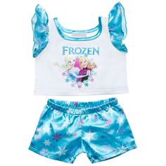 Disney's Frozen PJs 2 pc. | Build-A-Bear Workshop