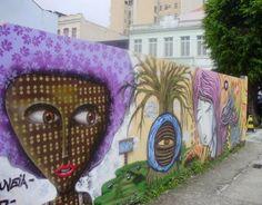 Arte de Rua, Florianópolis, SC, Brasil
