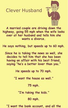Best funny jokes to tell husband Ideas