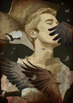 57 Trendy Ideas For Bird Wings Illustration Drawings Art And Illustration, Character Inspiration, Character Art, Bel Art, Arte Sketchbook, Pretty Art, Aesthetic Art, Oeuvre D'art, Dark Art