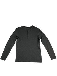 NWOT RAG /& BONE MEN´S UPSIDE DOWN CREW S//S TEE T-SHIRT WASHED BLACK RETAILS $125