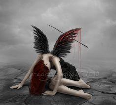 Fallen Angel by =creamymagique on deviantART