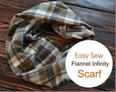 Easy Sew Infinity Scarf