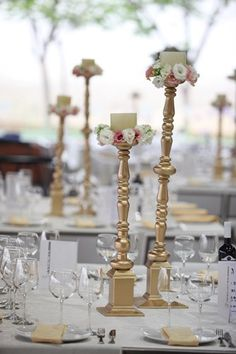 Whatever personal theme or trend, our variety ofwedding ornaments and supplies can certainly help keep your wedding ceremony amazing. Little Mermaid Wedding, The Little Mermaid, Hydrangea, Wedding Ceremony, Centerpieces, Candle Holders, Fairytale, Pictures, Photos