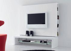 Link 2 Contemporary TV Stand and Media Unit Compar