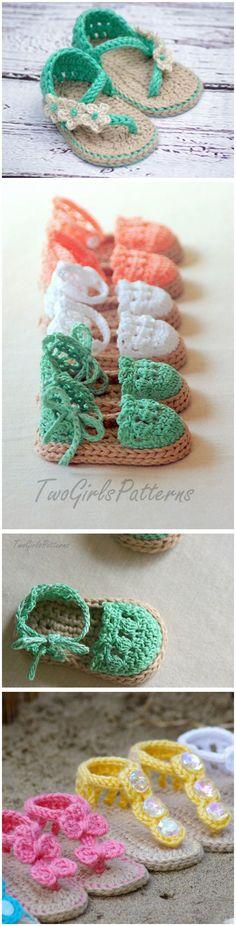 Baby Sandals Crochet Pattern                                                                                                                                                      More