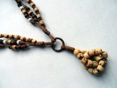 Surfer Style Beaded Hemp Necklace by MeredithLMurphy on Etsy, $15.00