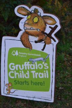 Gruffalo's Child Trail at Alice Holt - www.forestry.gov.uk/gruffalo