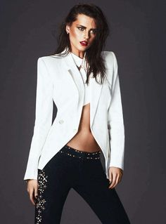 The S Moda Spring 2013 Photoshoot Stars a Retro Chic Elena Melnik