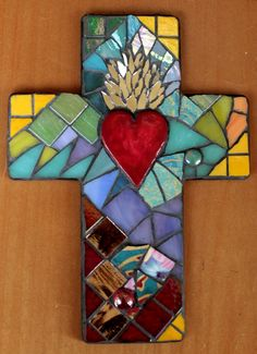 Mosaic Cross from my Etsy Shop - EveMosaics