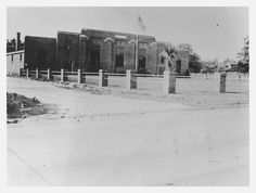 New Easley Armory 1940