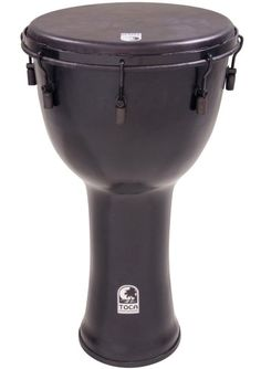 """Toca SFDMX-12BM Freestyle Black Mamba Mechanically Tuned 12-Inch Djembe Review – Toca Freestyle Black Mamba Mechanically Tuned """"12 Inch"""" Djembe . I have to admit..... I was skeptical first off that a Djembe made of PVC canvas could sound at all good .... much less one with wrench adjustment could compare at all with a wooden instrument of the same ilk. I was wrong. I was wrong. I was wrong..."""