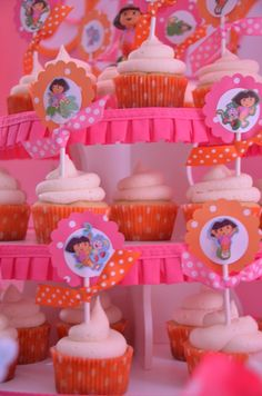 "Photo 9 of 14: Dora & Boots / Birthday ""Dora the Explorer & Boots Birthday Party"" 
