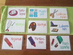 OpenIdeat: Lukemaan ja kirjoittamaan oppiminen Teaching Aids, Teaching Reading, Learning, Daily Five, Special Kids, Special Education, Classroom Decor, Preschool Activities, Literacy