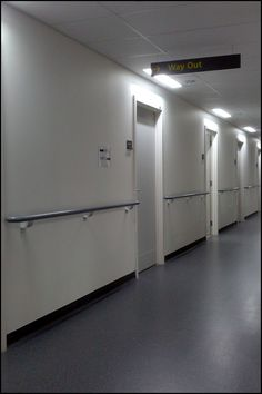 Hospital Corridor 3 May 2013