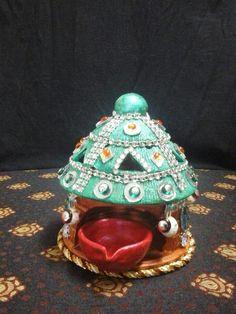 10 simple ganpati decoration ideas for your home part 1 5 for Room decor ulhasnagar