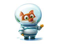 Home astronaut by Anton Kuryatnikov ★ Find more at http://www.pinterest.com/competing/