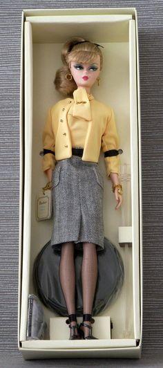 Details zu Beautiful Silkstone The Secretary Barbie NRFB Fashion Model…