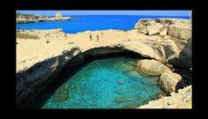 Grotta della Poesia, Roca Vecchia, Melendugno Province of Lecce, Puglia, Italia