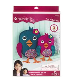 American Girl Crafts Birdies Sew & Stuff Kit