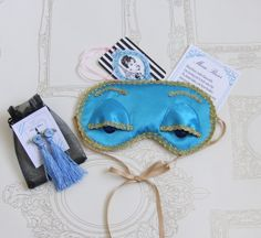 Breakfast at Tiffany's sleep mask and ear plugs gift set. £30.00
