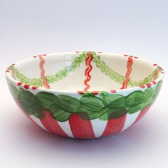 wenzeslaus Serving Bowls, Tableware, Red, Green, Tablewares, Dinnerware, Dishes, Place Settings, Mixing Bowls
