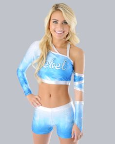 0996b824d4b77 Dye-Sublimated Allstar Cheerleading Uniform by Rebel Athletic Cheerleading  Uniforms