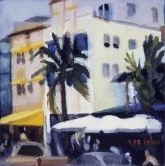 "Saatchi Art Artist George Barecca; Painting, ""South Beach I"" #art"