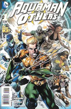 Futur's End: Prelude - Legacy of Gold: Part 1 --Written by Dan Jurgens, Art by Lan Medina and Allen Martinez, Cover by Ivan Reis and Joe Prad , the King of Atlantis and his teammates find themselves t