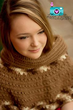 CROCHET PATTERN Ava Adult Capelet with optional Cowl & Hood P4