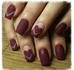 valentine nails art 40+1 Σχέδια νυχιών με καρδούλες που θα σε ξετρελάνουν! | ediva.gr