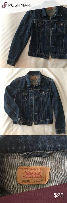 d1aa3bbb9a0 Vintage Levi s Jean Jacket 70590 Vintage Levi s denim jean jacket in  excellent condition. Size medium